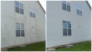 Why you should power wash a house. Raise Value